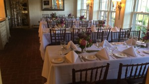 Private parties and elegant rehearsal dinners along the Delaware River